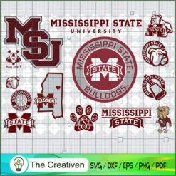 Mississippi State Bulldogs SVG, Division I Football Bowl Subdivision SVG, NCAA SVG