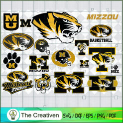 Missouri Tigers SVG, Division I Football Bowl Subdivision SVG, NCAA SVG