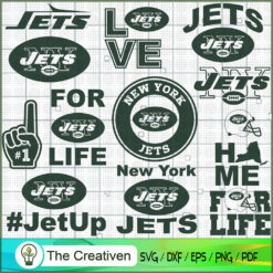 New York Jets Bundle SVG, Football Svg Bundle SVG , NFL Team SVG , New York Jets Sport SVG