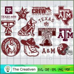Texas A_M Aggies SVG, Division I Football Bowl Subdivision SVG, NCAA SVG
