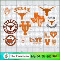 Texas LongHorns SVG, Division I Football Bowl Subdivision SVG, NCAA SVG