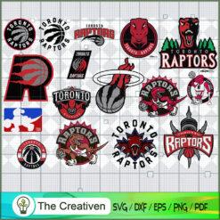 Toronto Raptors Team SVG, Basketball SVG, National Basketball Association SVG