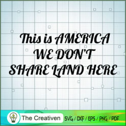 This is America We Don't Share Land Here SVG, Yellowstone SVG, Cowboy SVG