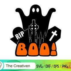 Boo Happy Halloween SVG, Boo Happy Halloween Digital File, Halloween Boo SVG