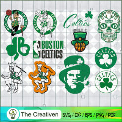 Boston Celtics Basketball Team SVG, Basketball SVG,  National Basketball Association SVG