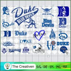 Duke Blue Devil SVG, Division I Football Bowl Subdivision SVG, NCAA SVG