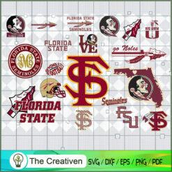 Florida State Seminoles SVG, Division I Football Bowl Subdivision SVG, NCAA SVG