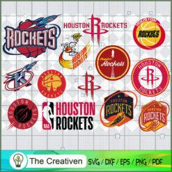 Houston Rockets SVG, Basketball SVG,  National Basketball Association SVG