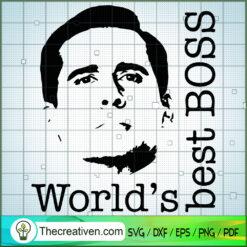 World's Best Boss SVG, The Office TV Show SVG, Funny Movie SVG