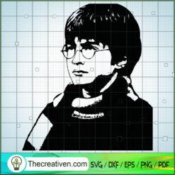 Handsome Boy Harry Potter SVG, Hogwarts SVG, Harry Potter SVG