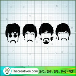 Member of The Beatles SVG, Rock Band SVG, The Beatles SVG, The Beatles The Legend Of Rock SVG