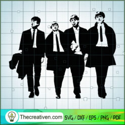 Member of The Beatles Cool SVG, Rock Band SVG, The Beatles SVG, The Beatles The Legend Of Rock SVG