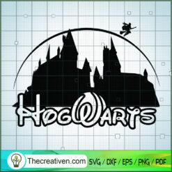 Disney Hogwarts SVG, Hogwarts SVG, Harry Potter SVG