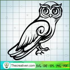 Owl Vol 5 SVG Free, Owl SVG Free,Free SVG For Cricut Silhouette