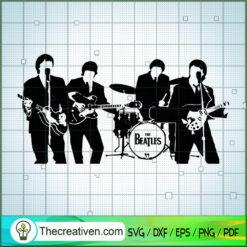 Member of The Beatles Sing SVG, Rock Band SVG, The Beatles SVG, The Beatles The Legend Of Rock SVG