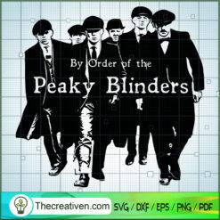 Brother Of Peaky Blinders SVG, Peaky Blinders SVG, Gangster SVG