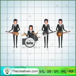Member of The Beatles Art 1969 SVG, Rock Band SVG, The Beatles SVG, The Beatles The Legend Of Rock SVG