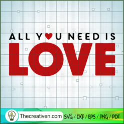 All You Need is Love the Beatles SVG, Rock Band SVG, The Beatles SVG, The Beatles The Legend Of Rock SVG