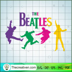 Yeah The Beatles Color SVG, Rock Band SVG, The Beatles SVG, The Beatles The Legend Of Rock SVG