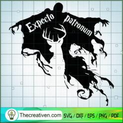Expecto Patronum Azkaban SVG, Hogwarts SVG, Harry Potter SVG