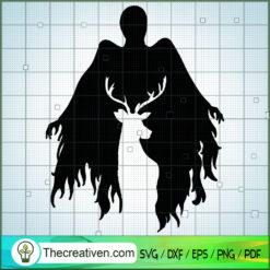 Deer Black Shadow SVG, Hogwarts SVG, Harry Potter SVG