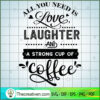 All you need is love laughter and copy