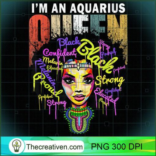 Aquarius Birthday Shirts for Women January February Queen T Shirt copy