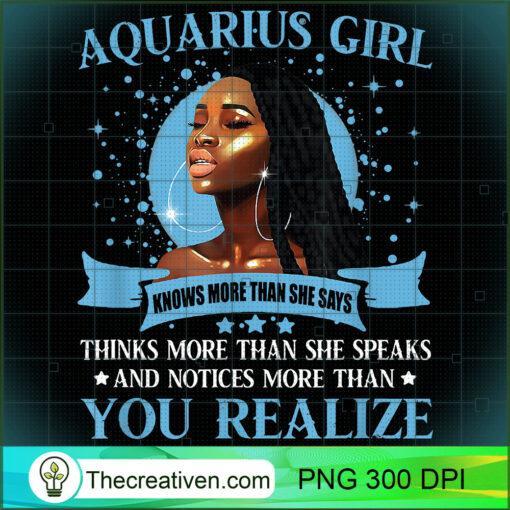 Aquarius Girl Black Queen January Birthday February Birthday T Shirt copy