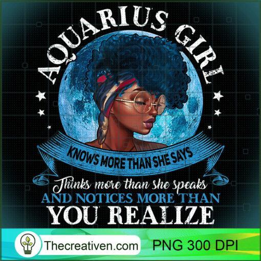 Aquarius Girls Black Queen Best January Birthday Gift T Shirt copy