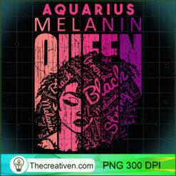 Aquarius Melanin Queen Strong Black Woman Zodiac Horoscope  PNG, Afro Women PNG, Aquarius Queen PNG, Black Women PNG