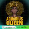 Aquarius Queen Black Woman Natural Hair African American T Shirt copy