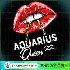 Aquarius Queen January February Birthday Sexy Lip Girl Women PNG, Afro Women PNG, Aquarius Queen PNG, Black Women PNG