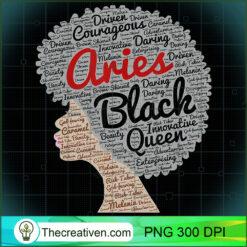 Aries Black Queen Afro Black Women PNG, Afro Women PNG, Aries Queen PNG, Black Women PNG