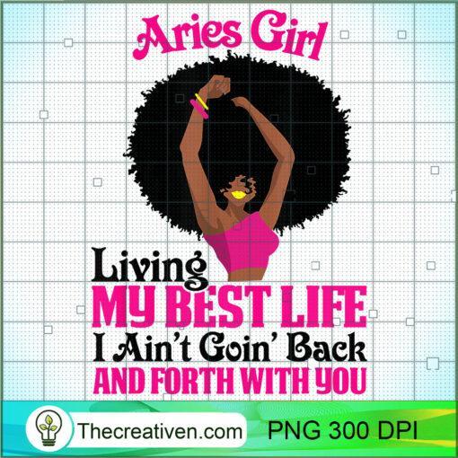 Aries Girl Black Girl Afro Woman Zodiac Signs Horoscopes T Shirt copy