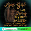 Aries Girl I m Living My Best Life Birthday Gift Woman Premium T Shirt copy
