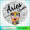 Aries Queen Shirt Birthday Gift Aries Black Queen Tshirt copy