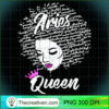 Aries Zodiac Birthday Afro Gift T Shirt for Black Women copy