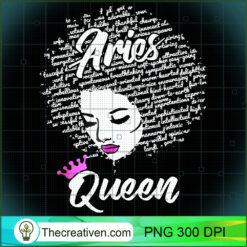 Aries Zodiac AfroBlack Women PNG, Afro Women PNG, Aries Queen PNG, Black Women PNG