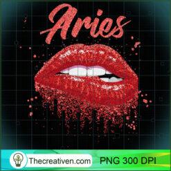 Aries Zodiac Red Lips Black Women PNG, Afro Women PNG, Aries Queen PNG, Black Women PNG