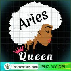 Aries Zodiac Cool Black Women Afro PNG, Afro Women PNG, Aries Queen PNG, Black Women PNG