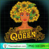 August Queen Birthday Afro Black Funny Leo Gifts Premium T Shirt copy