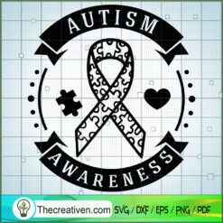Autism Awareness SVG Free, Autism SVG Free, Free SVG For Cricut Silhouette