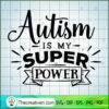 Autism is my super power copy