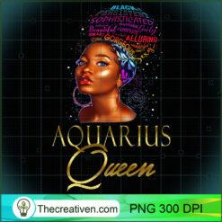 Beautiful African American Aquarius Queen Natural Hair Women PNG, Afro Women PNG, Aquarius Queen PNG, Black Women PNG
