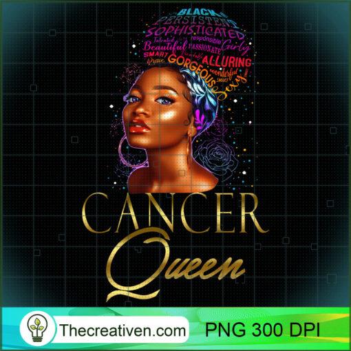 Beautiful African American Cancer Queen Natural Hair Women Sweatshirt copy