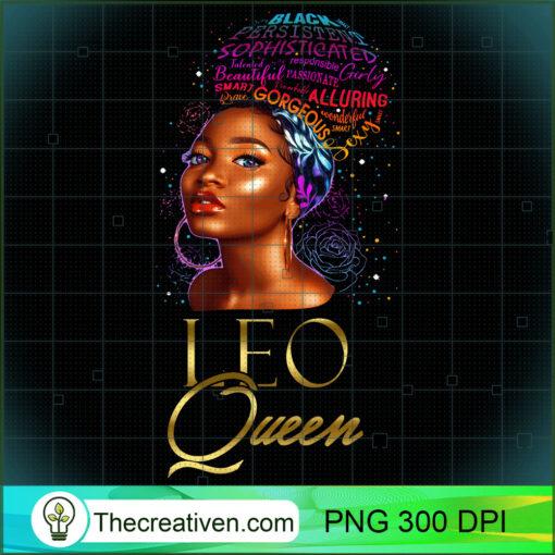 Beautiful African American Leo Queen Natural Hair Women Sweatshirt copy