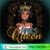 Black Queen Birthday Gift Horoscope Zodiac ARIES Long Sleeve T Shirt copy