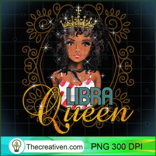 Black Queen Birthday Gift Horoscope Zodiac LIBRA T Shirt copy
