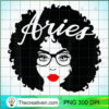 Black Queen Birthday Gifts Red Lips Afro Diva Aries Zodiac T Shirt copy