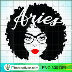 Black Queens Red Lips Afro Diva Aries Zodiac PNG, Afro Women PNG, Aries Queen PNG, Black Women PNG